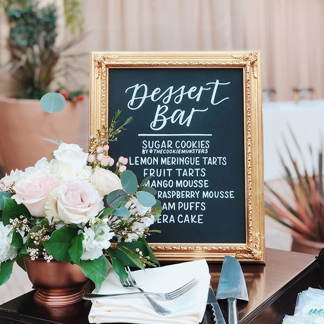You can find me at the dessert bar 🙋🏽‍♀️🧁🍪🍰 (Photo: @jessicajaikumar)