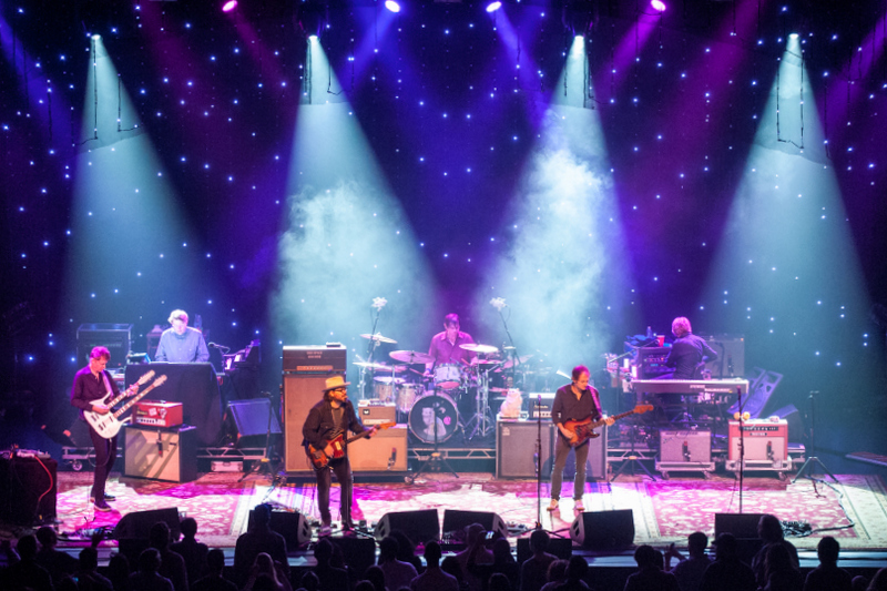 Wilco - Star Wars Tour; Photo: Andrew Blackstein; Lighting Design: Jeremy Roth