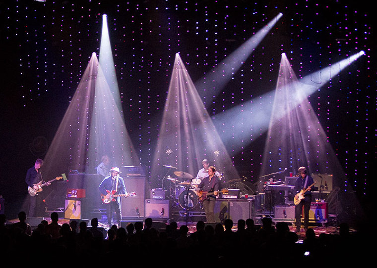 Wilco - Star Wars Tour; Photo: Adela Laconte; Lighting Design: Jeremy Roth