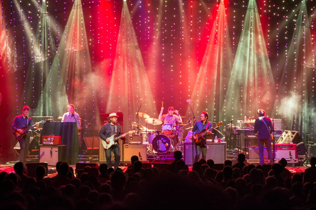 Wilco - Star Wars Tour; Photo: Rick Levinson; Lighting Design: Jeremy Roth