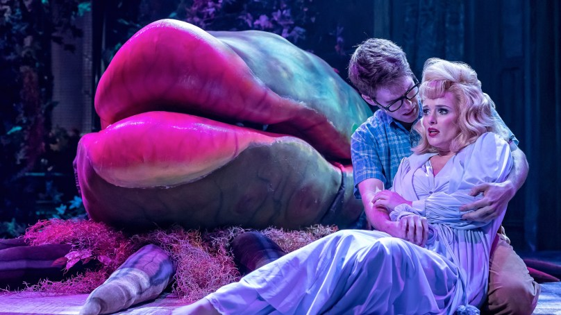 """My 2018 review of Drury Lane's """"Little Shop of Horrors"""" garnered 1000+ page visits and sparked a community wide conversation around musical theater casting."""
