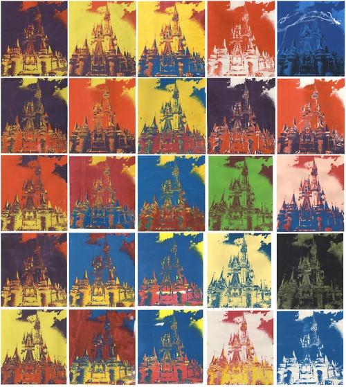 Disney Silkscreen Print, 2012