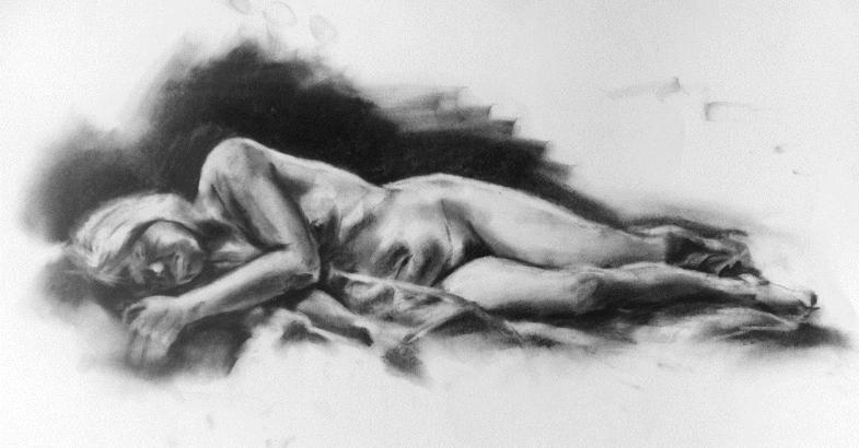 Reclining Nude, 2012