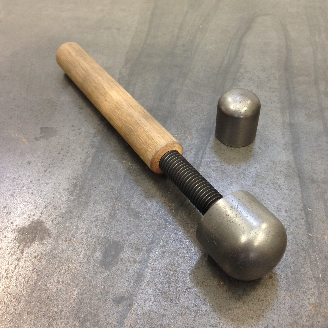 GRAPHITE GLASS BLOWING TOOL