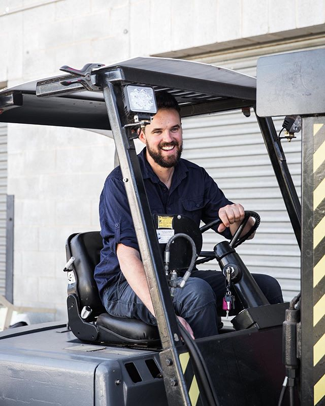 I recently chatted with Thor's Hammer for their new Meet the Maker blog series. A little about timber, metal and our new workshop. Read more via link in my profile. 📷 @leantimms  P.S. Regrettably selling my Hyster forklift - email for details 👍🏻