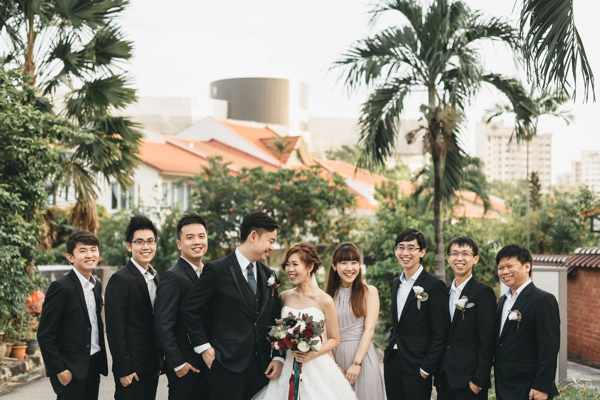 Shaun & Zhirong - I first got to know Junwei through a colleague while working overseas. Both my husband and I found him really sincere and genuine in providing a quality service. His packages are affordable, but his services and passion in capturing the most authentic moments for us are priceless.We loved how he works by bouncing off ideas with our videographer during our wedding. We were also very impressed with the well-edited photos for our express photo highlights - they were so beautifully captured and mesmerising it was a challenge to look away from them while hosting our dinner banquet!If you're not a fan of posed shots and prefer natural and fun photos, Junwei is the one to go for. We are so glad to have Junwei as our photographer for our special day. Thanks for bringing out the best in us! Keep up the good job!