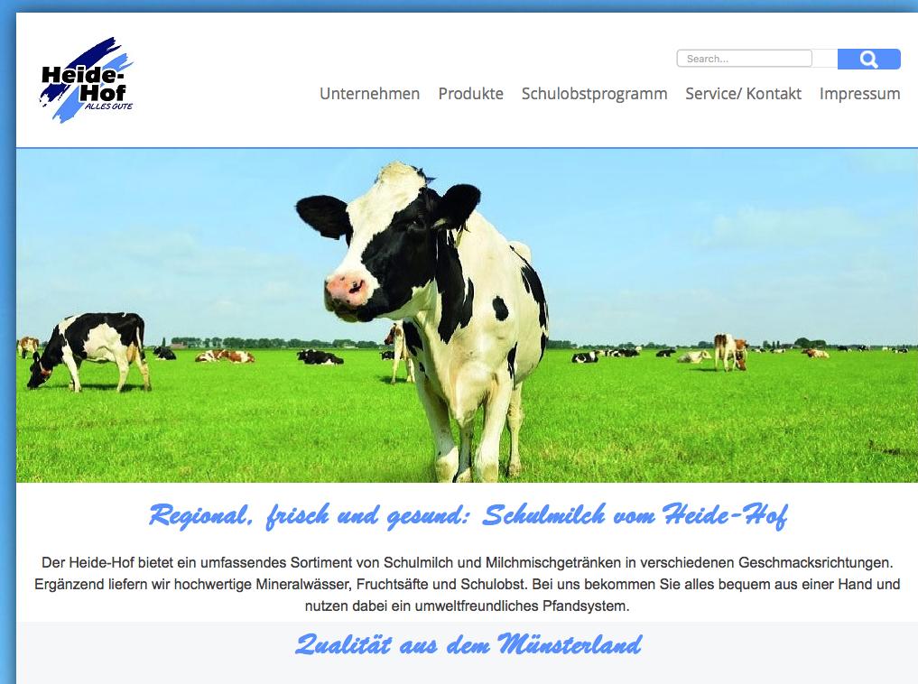 Re-Launch der Webseite in Zusammenarbeit mit dem Texter