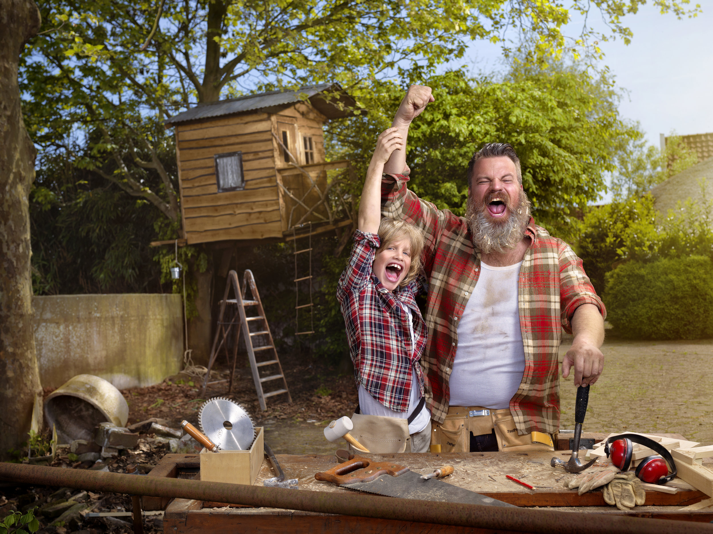 Father's Day Campaign Hornbach 2017