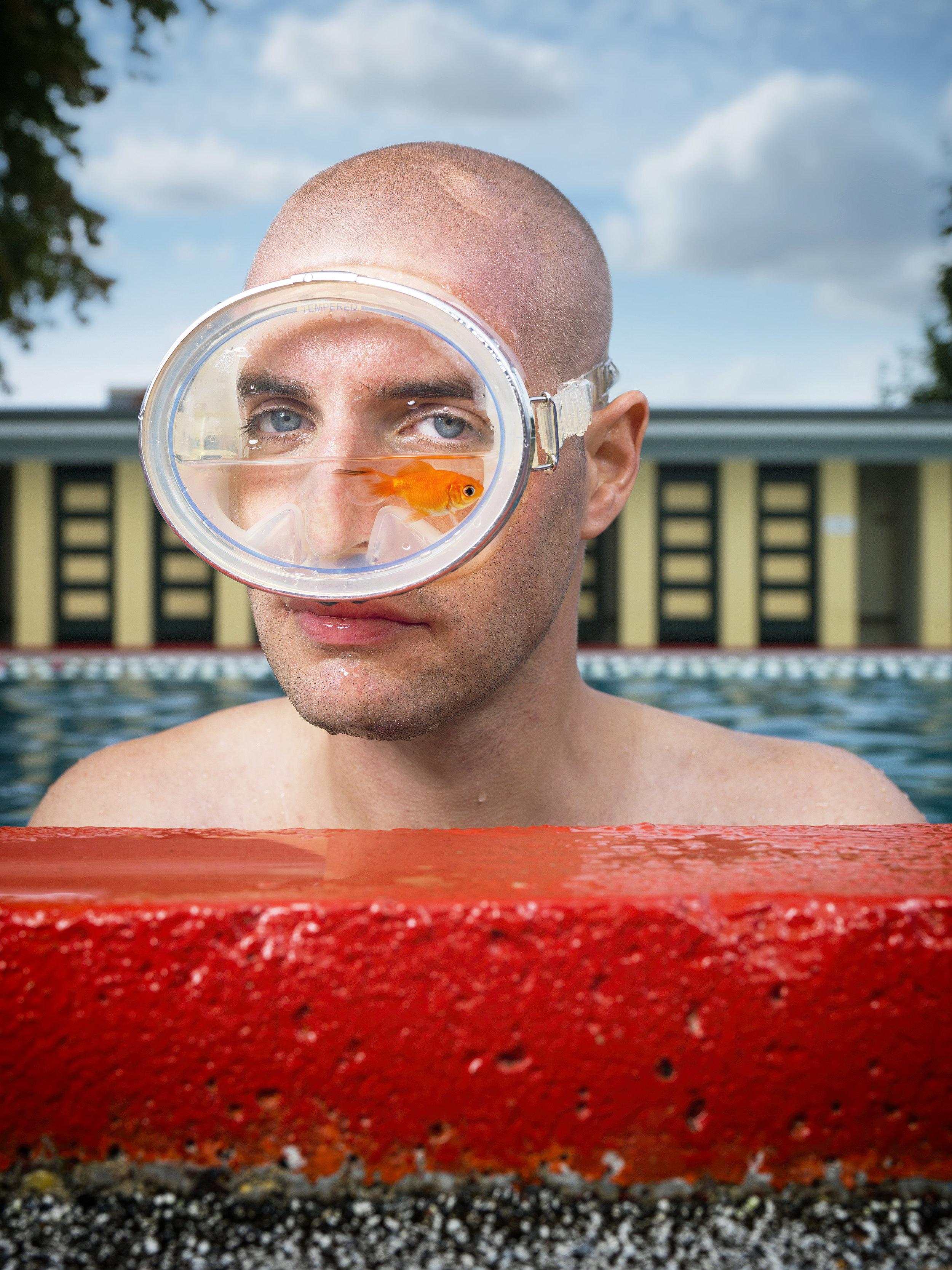 Olympic Swimmer Maarten van der Weijden