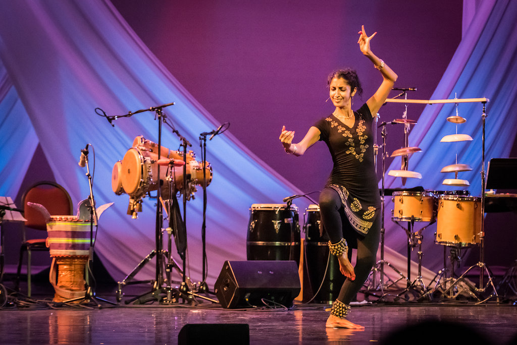 "Bharat Natyam dancer, Aparna Keshaviah on Isabel Castellvi's original composition, ""She Who Stirs the Water"""