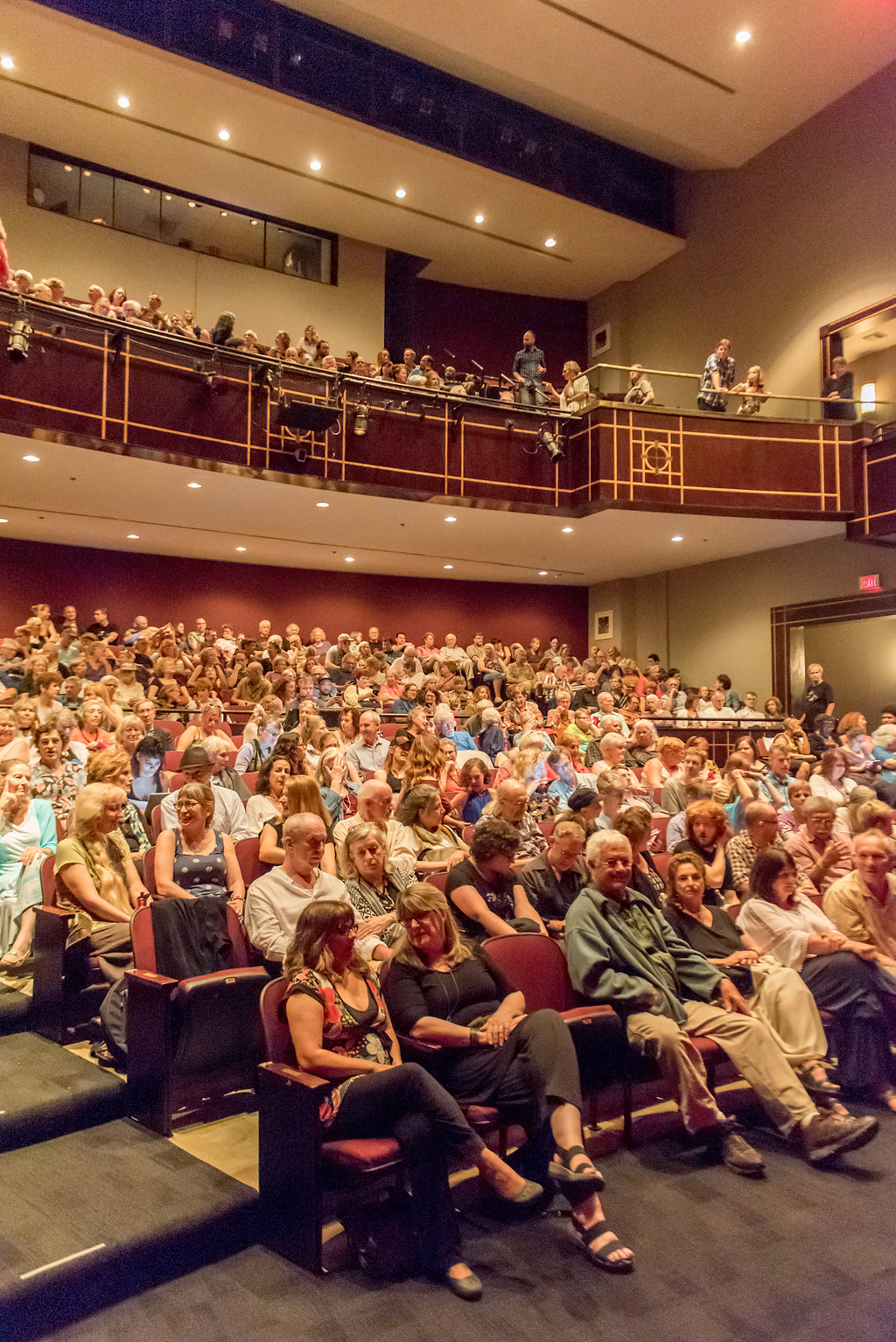 Diana Wortham Theatre filled to capacity