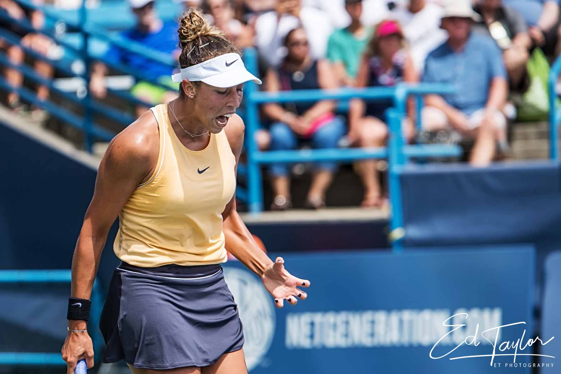 Madison Keys won her first Western Southern Open.