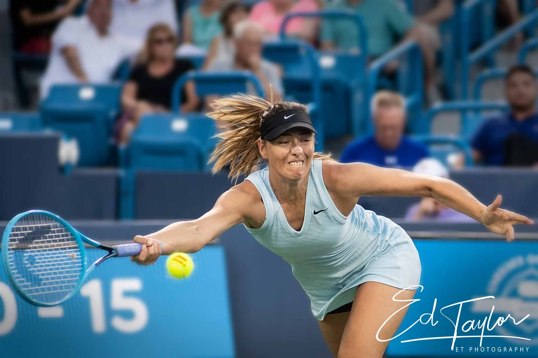 Another one of Maria Sharapova.  I must admit, I took a lot of her.