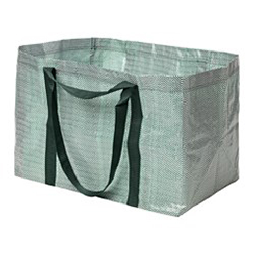 Ikea Ypperlig Shopper - Green / White