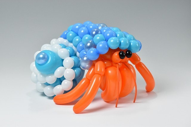 hermit crab balloon animal
