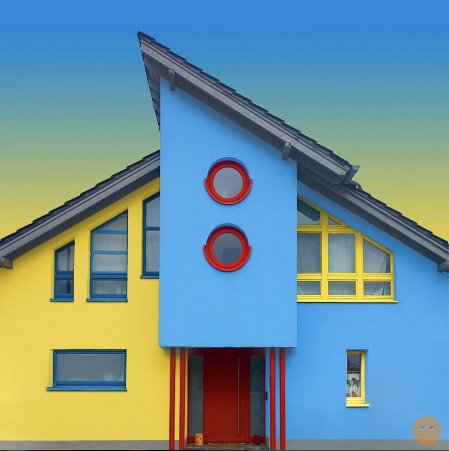 fun quirky house design
