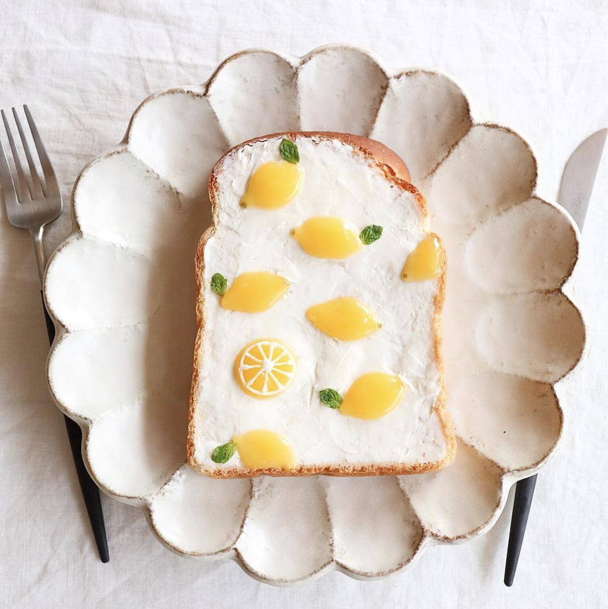 lemon bread art