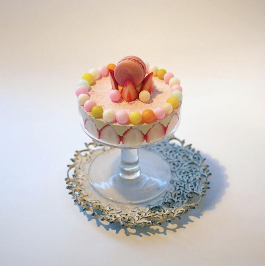 kawaii pastel fruit cake 中野屋