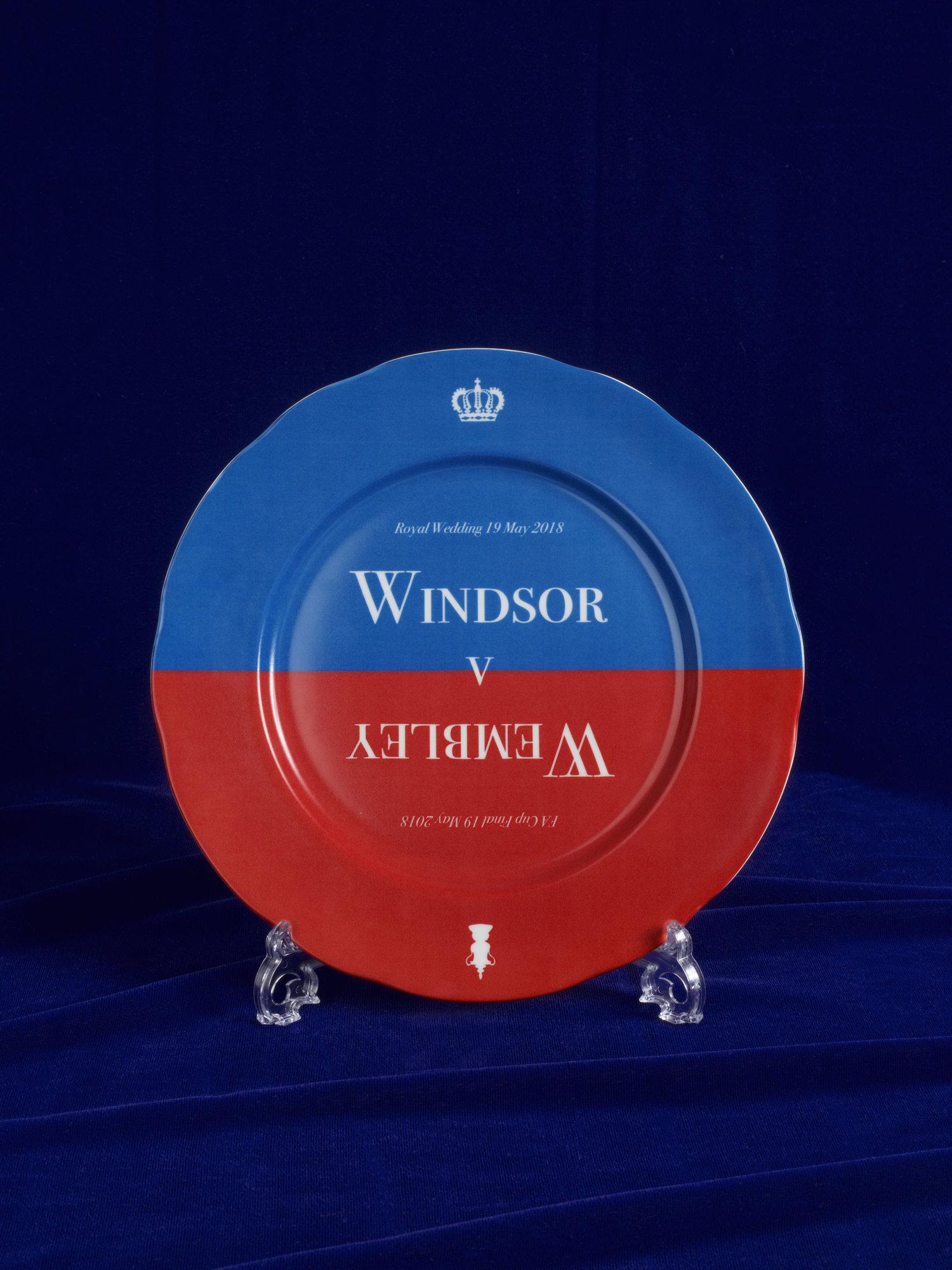 Harry and Meghan Wedding Windsor Wembley Plate.jpg
