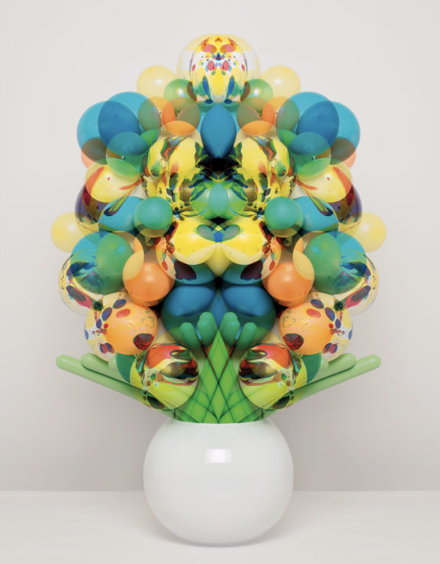 Sarah Illenberger fun balloon floral bouquets