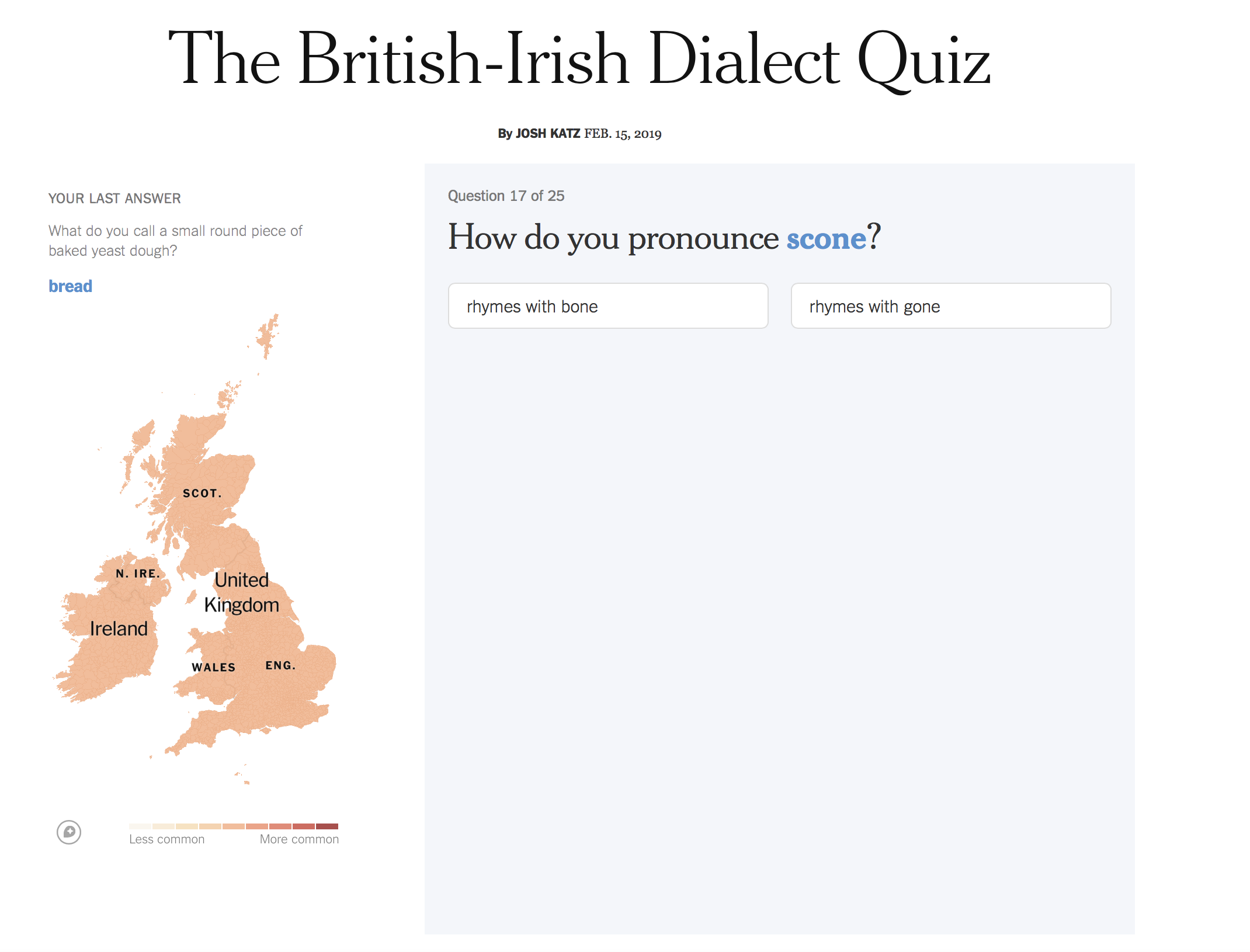 Fun british slang quiz