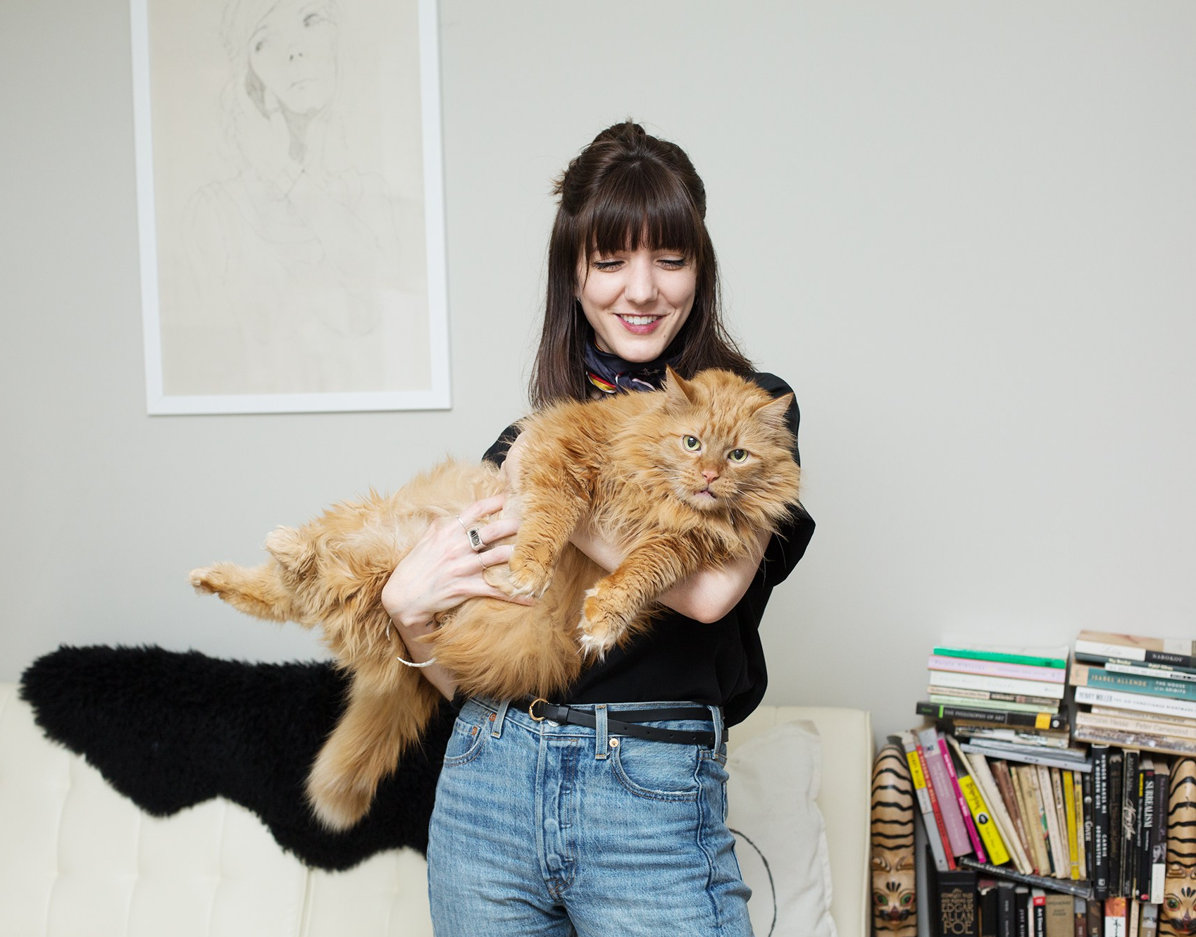 Illustrator Catherine and Cat Edgar, New York