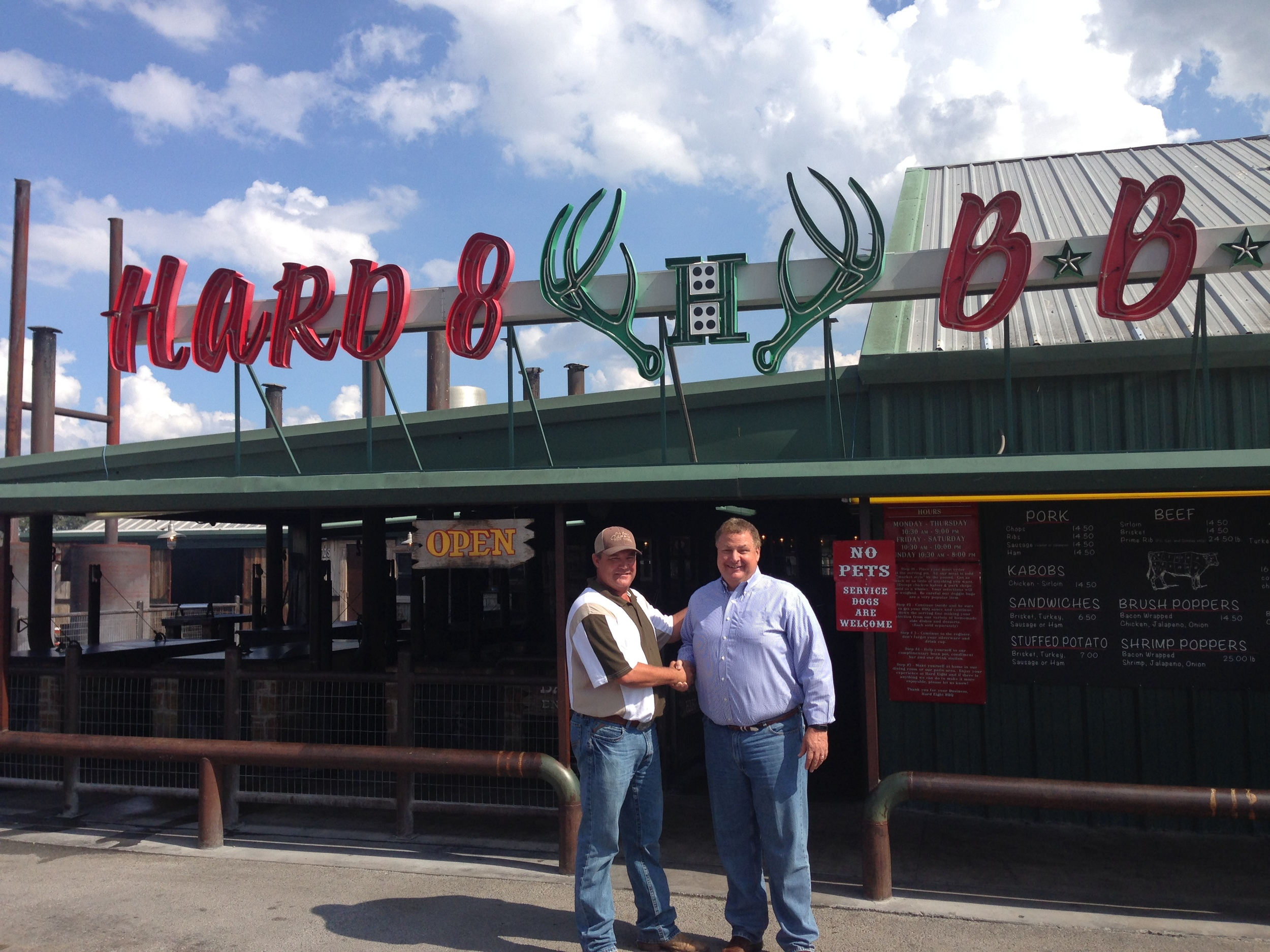Hard Eight BBQ signed as a new tenant at Grandscape