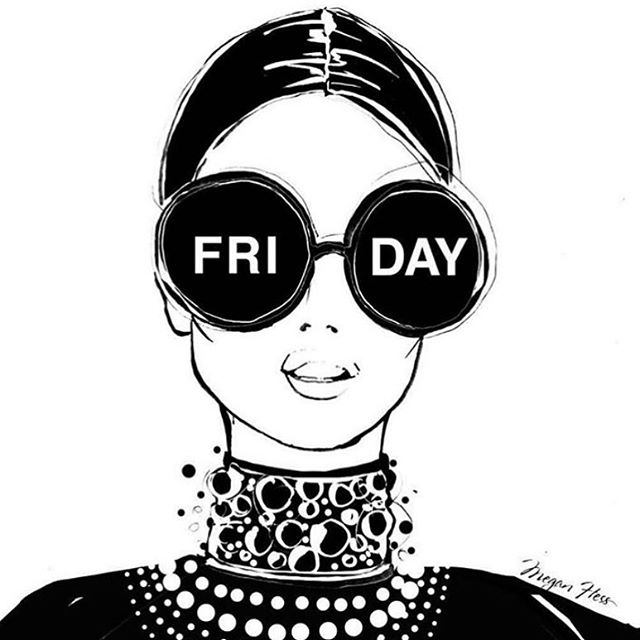 Is it Friday yet?  #meganhess_official illustration