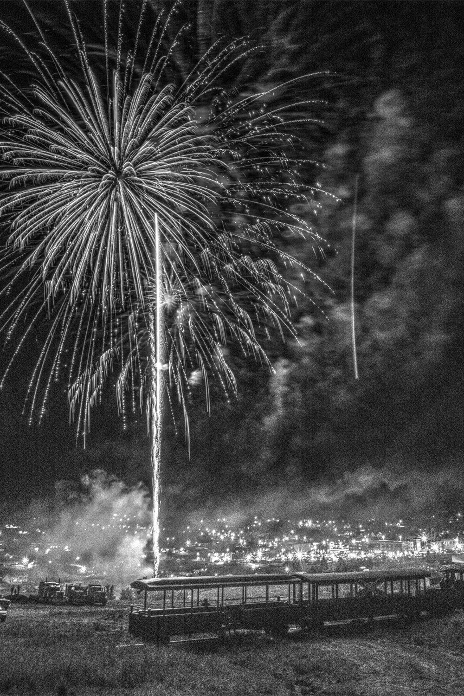 Fireworks Over Cripple Creek