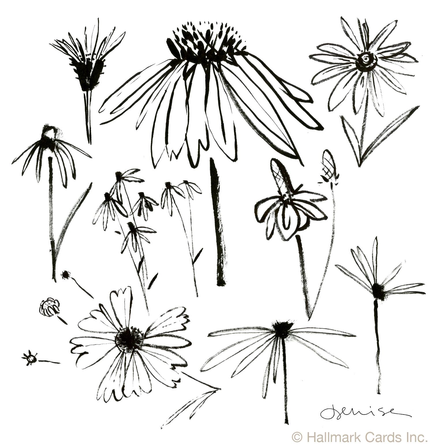 Flowers Prairie Brushwork.jpg