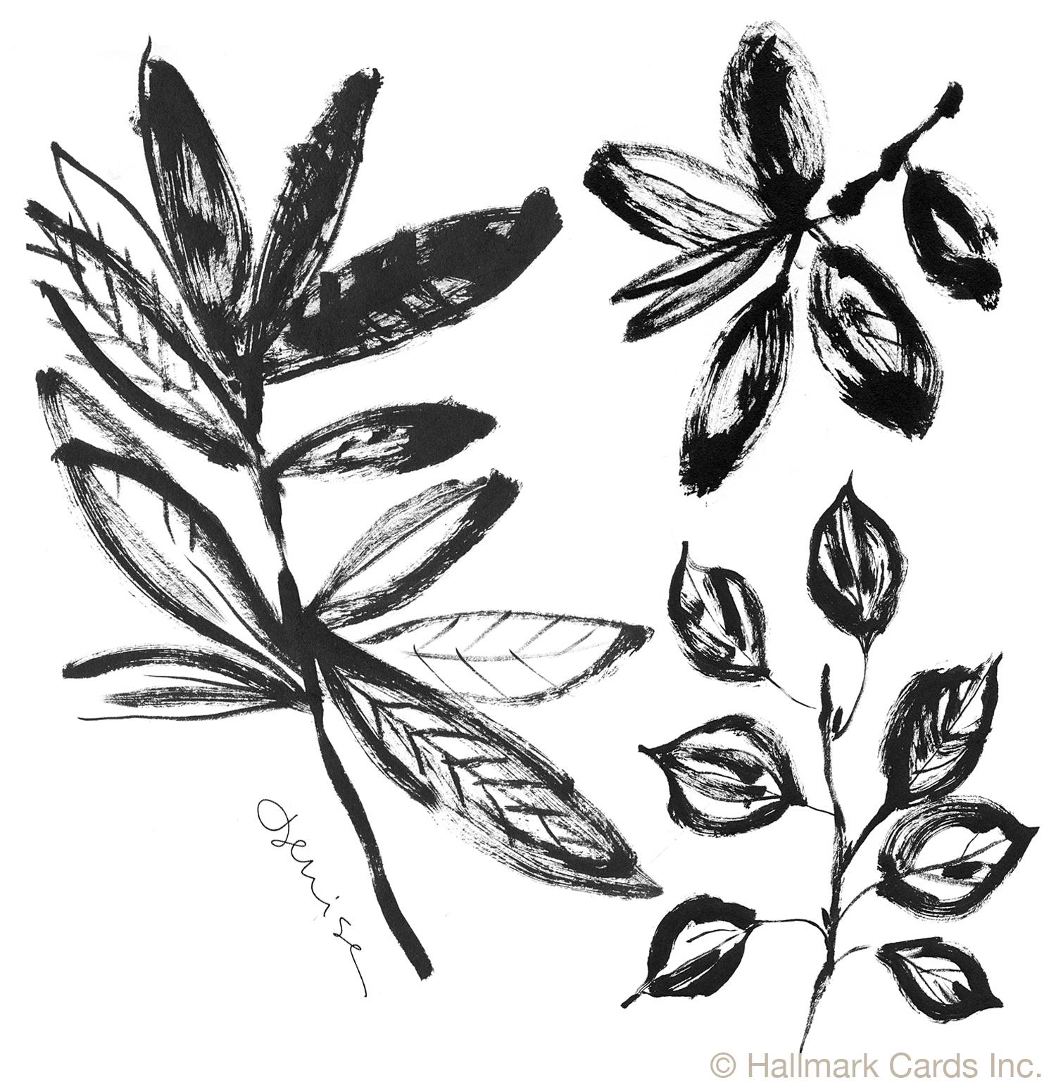 Leaves on Branches Brushwork.jpg