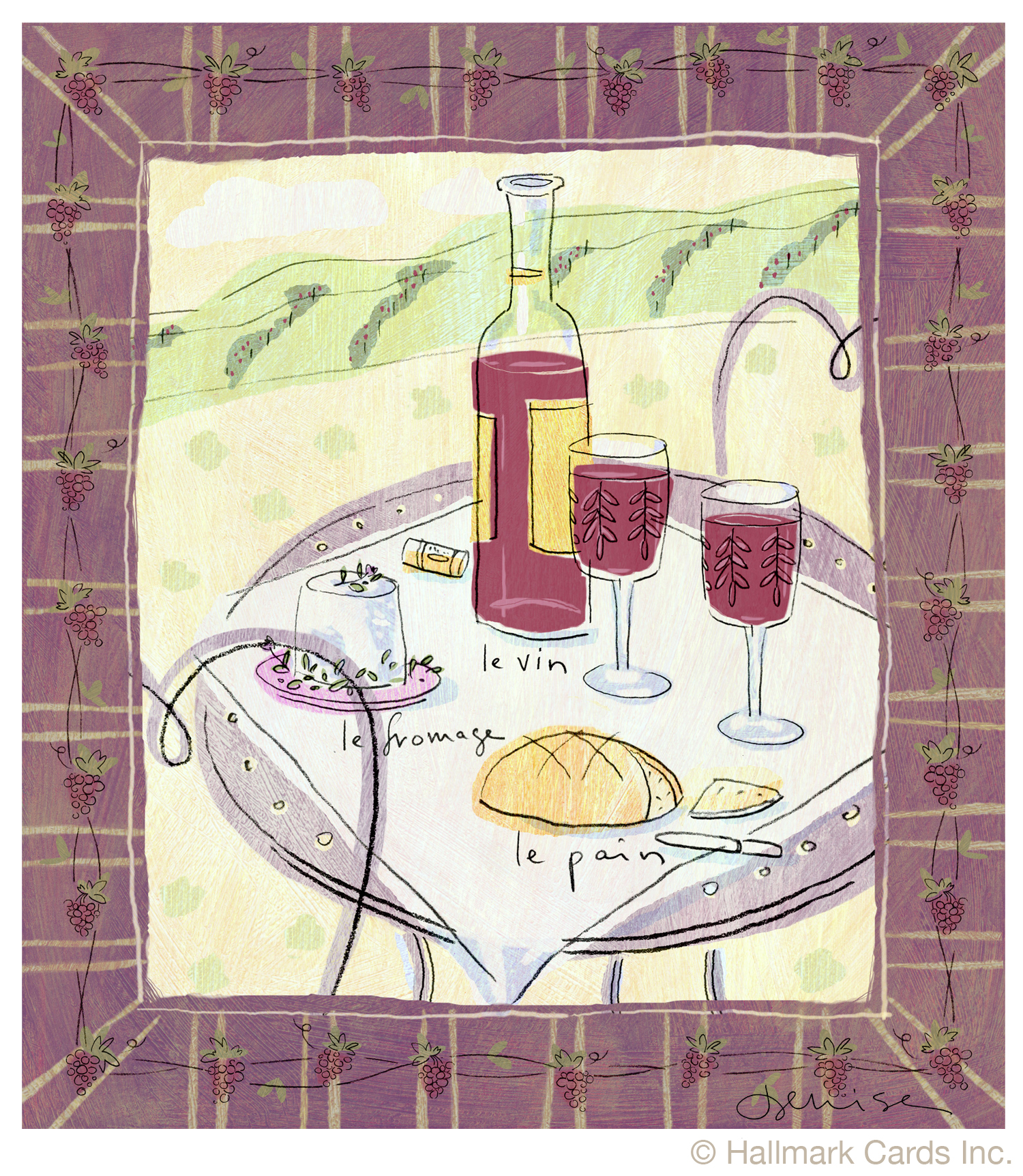 Le Vin framed print.jpg