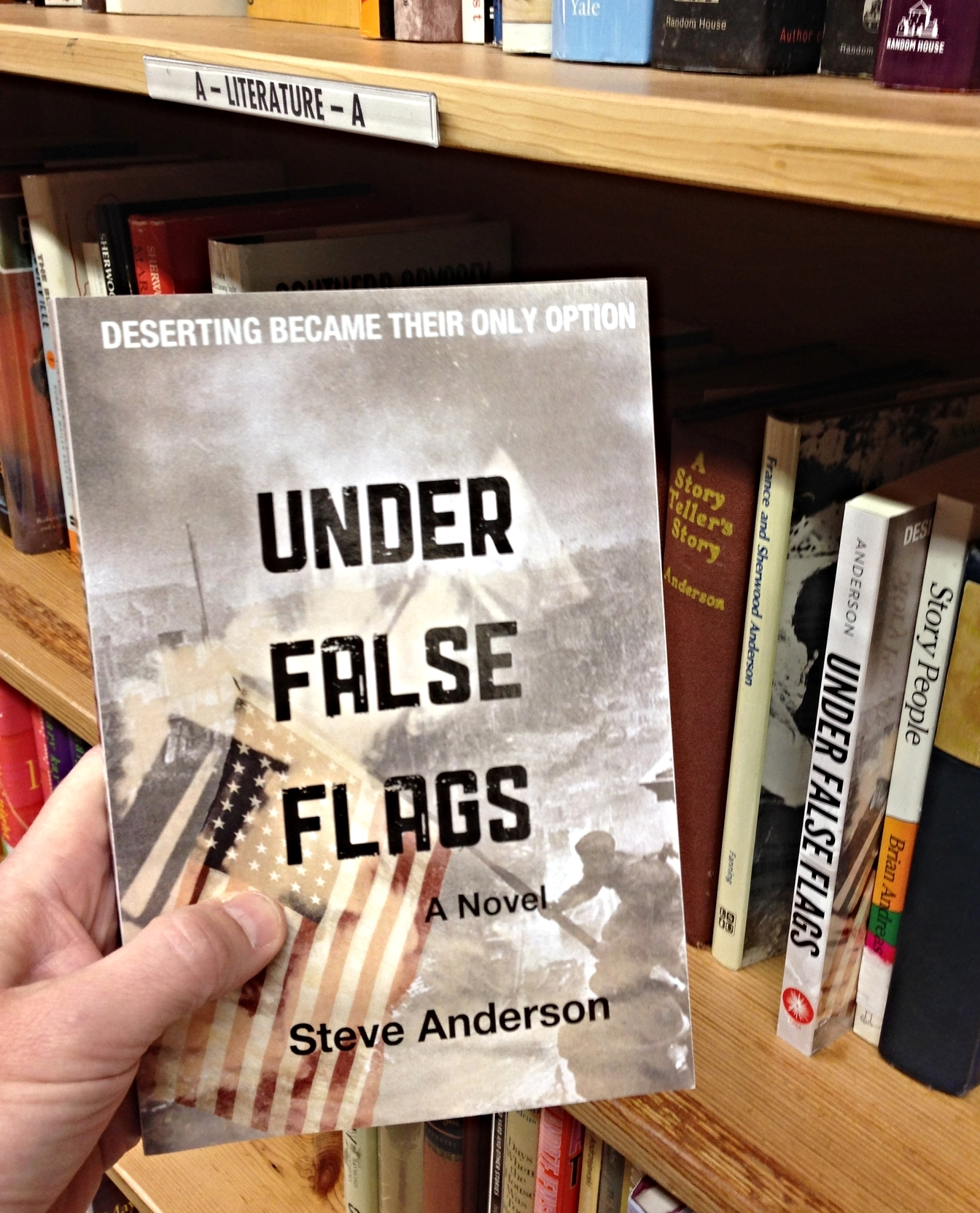 Under False Flags @ Powell's 2