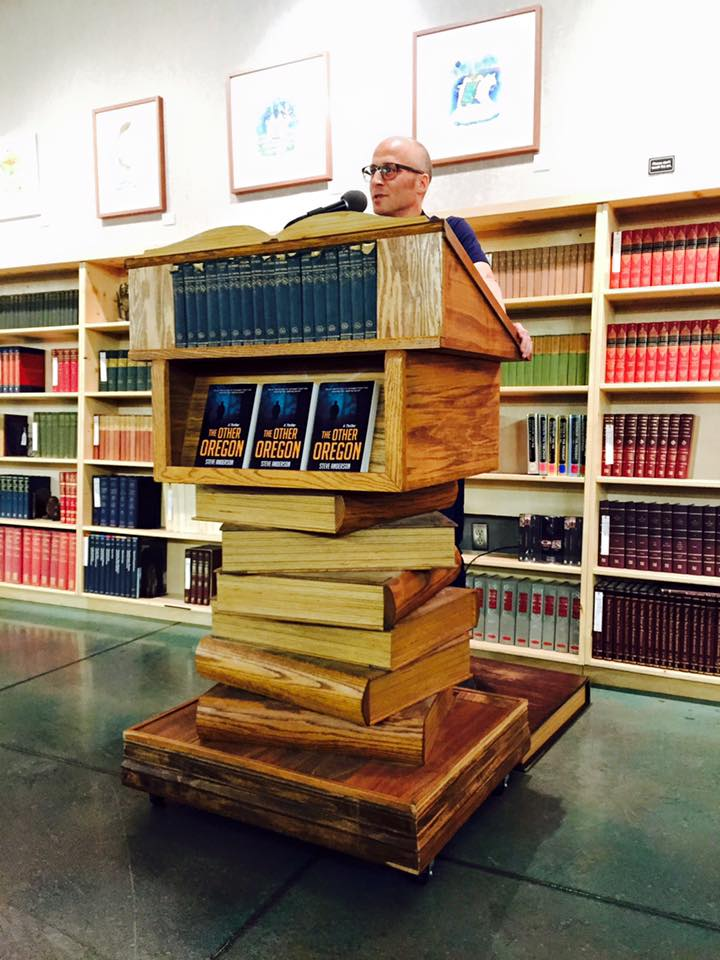 Powell's City of Books, July 2015 (photo: Tennison Geihs)