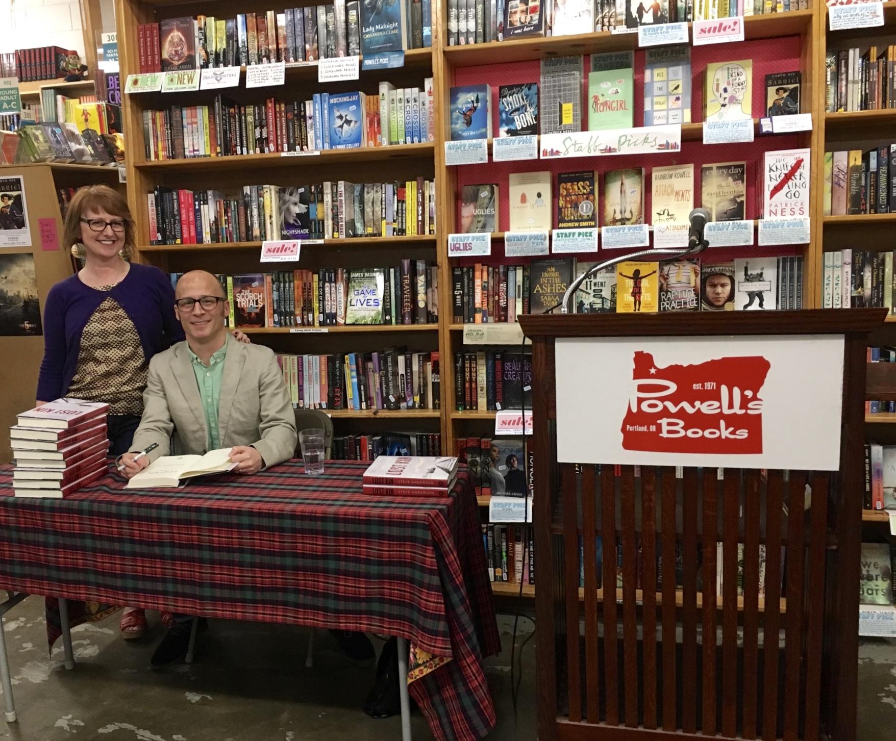 Powell's Books on Hawthorne, April 2016