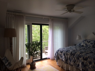 My beautiful bedroom overlooking Great Edgartown Pond