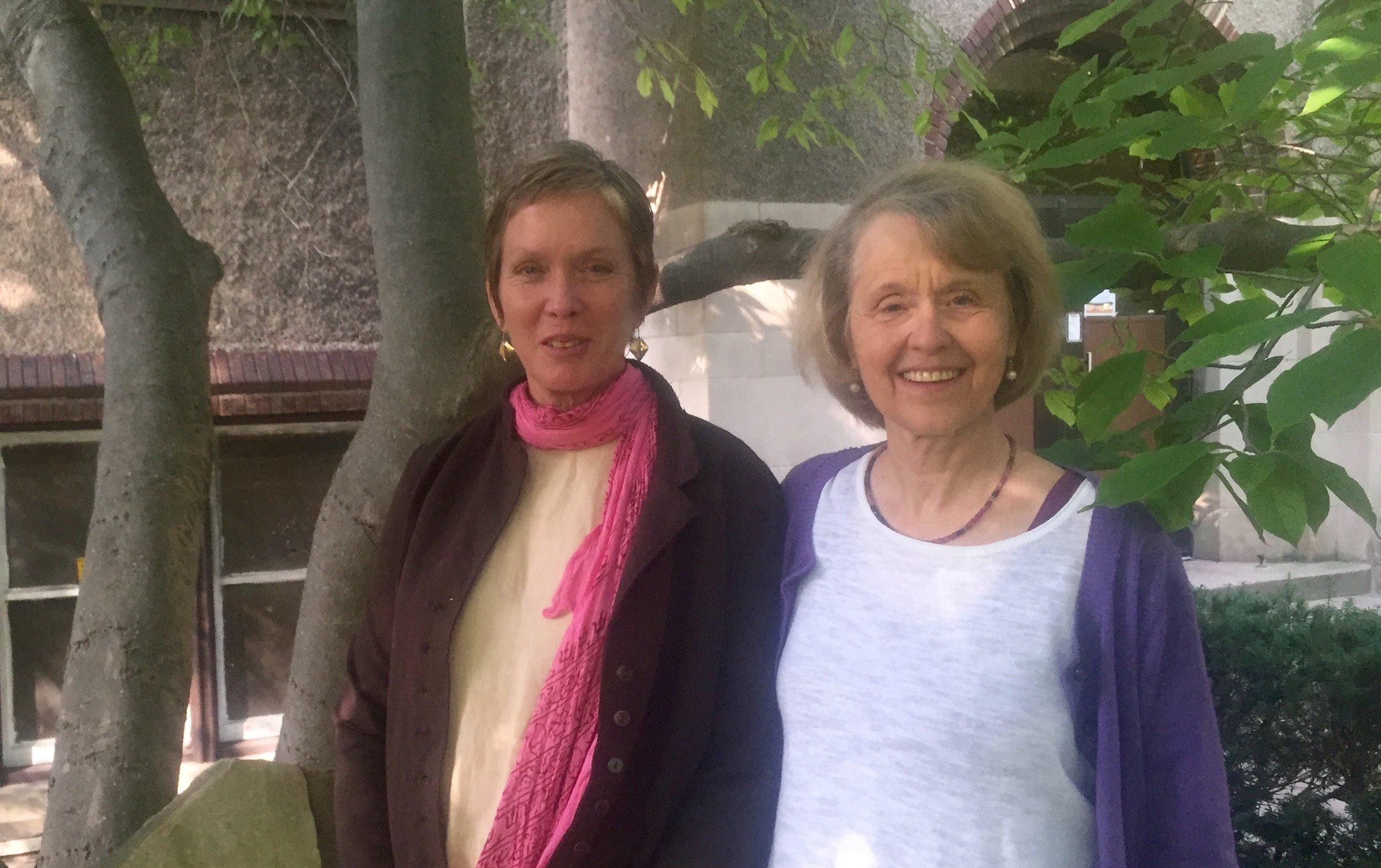 Sarah Addae and Susann Eddy