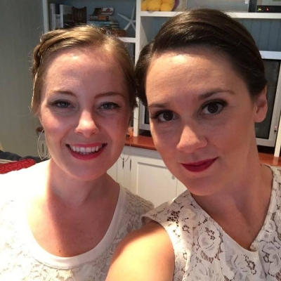 Megan and Kate, still friends after all these years!