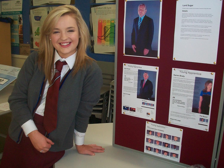 Maria Doran from BBC Apprentice
