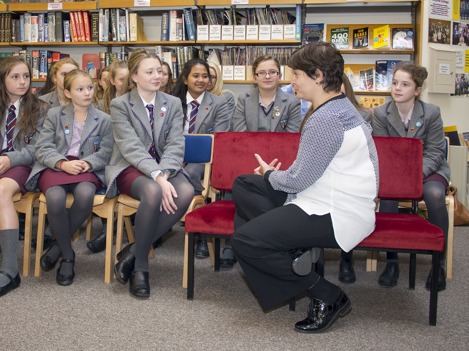 Commissioner for Children and Young People visits VCB