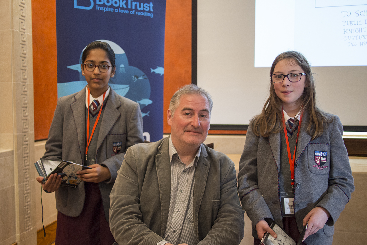 A1270697 Maeve and Vaidhai with Chris Riddell.jpg