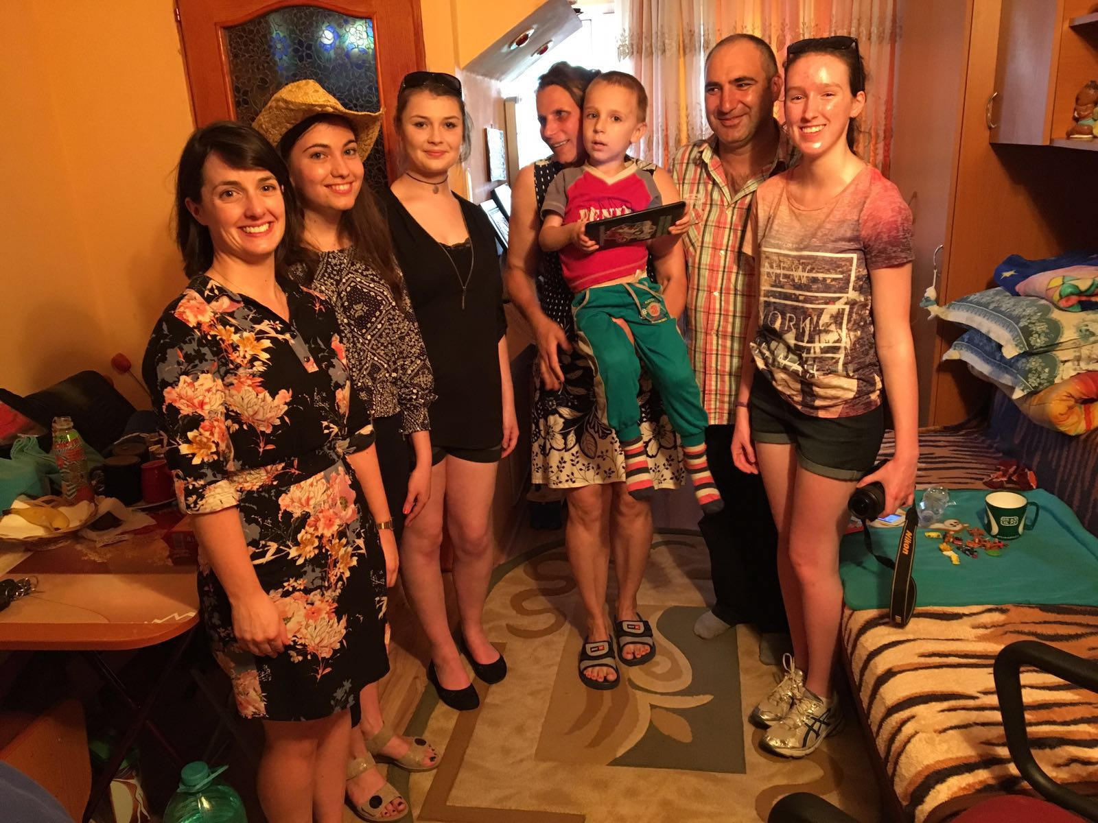 Our visit to the Hongu family
