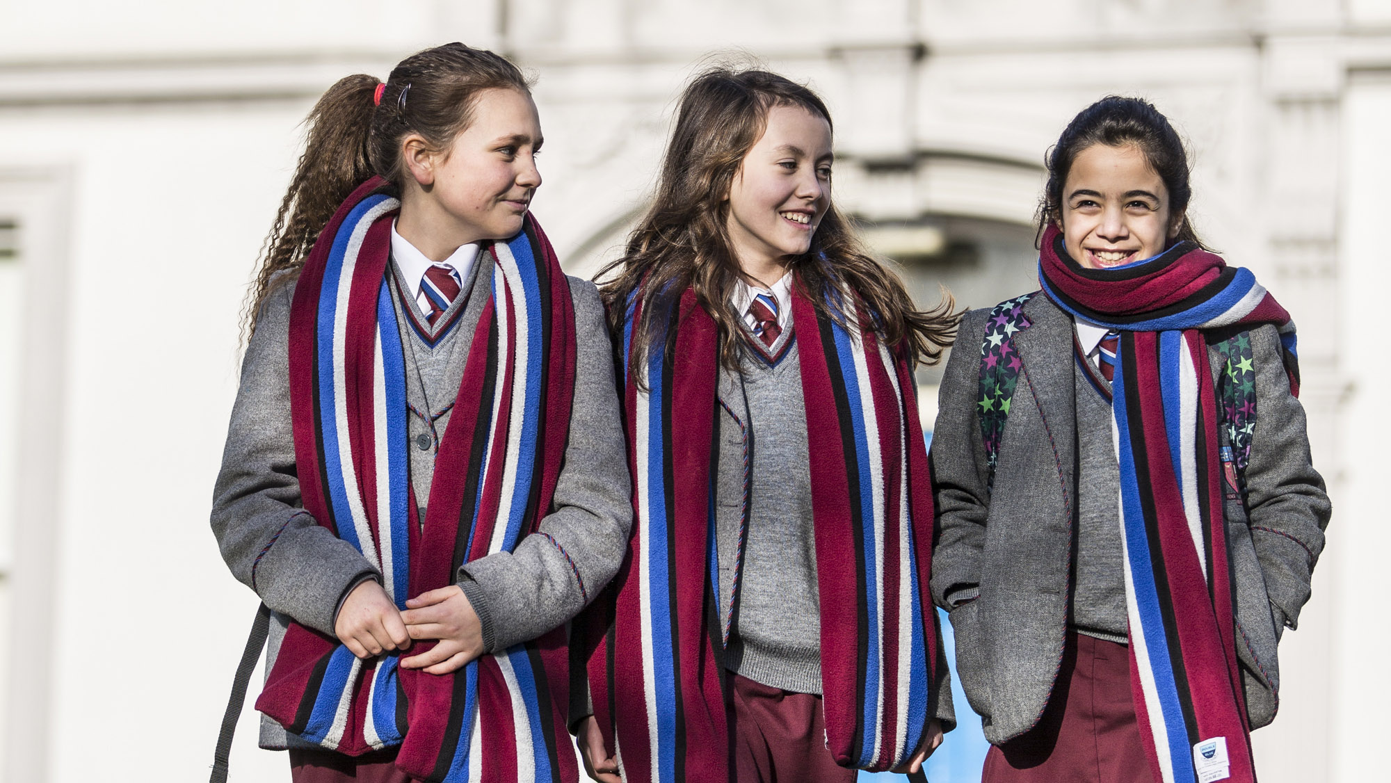 Happy Year 8 Victoria College Girls