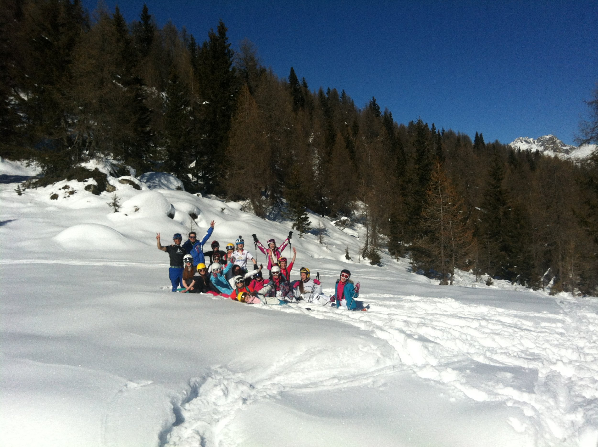 Intermediates off piste day 5.JPG