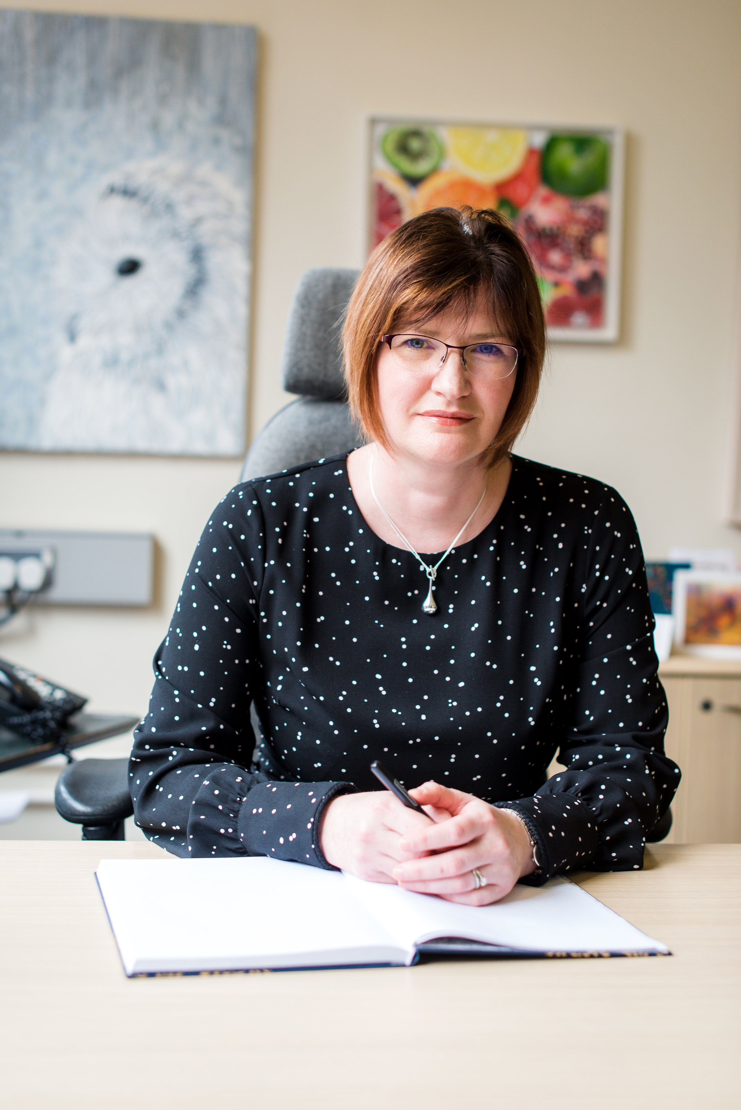 Mrs Karen Quinn, Principal of Victoria College, Belfast