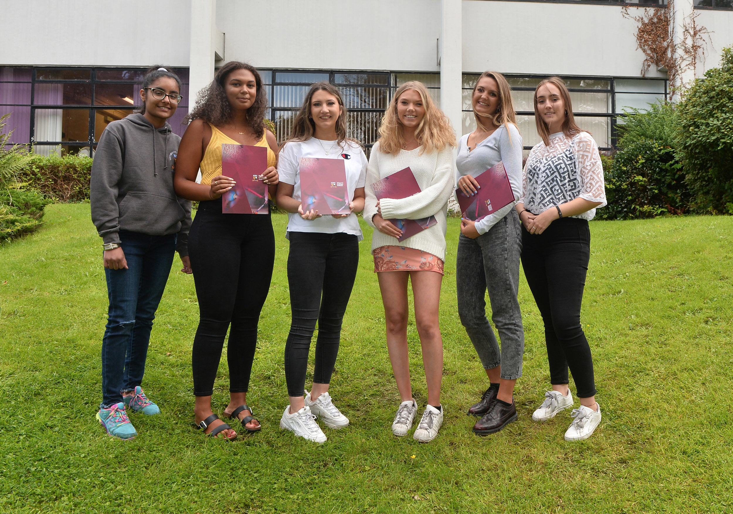 Pacemaker A Level results at Victoria College in Belfast 06.jpg