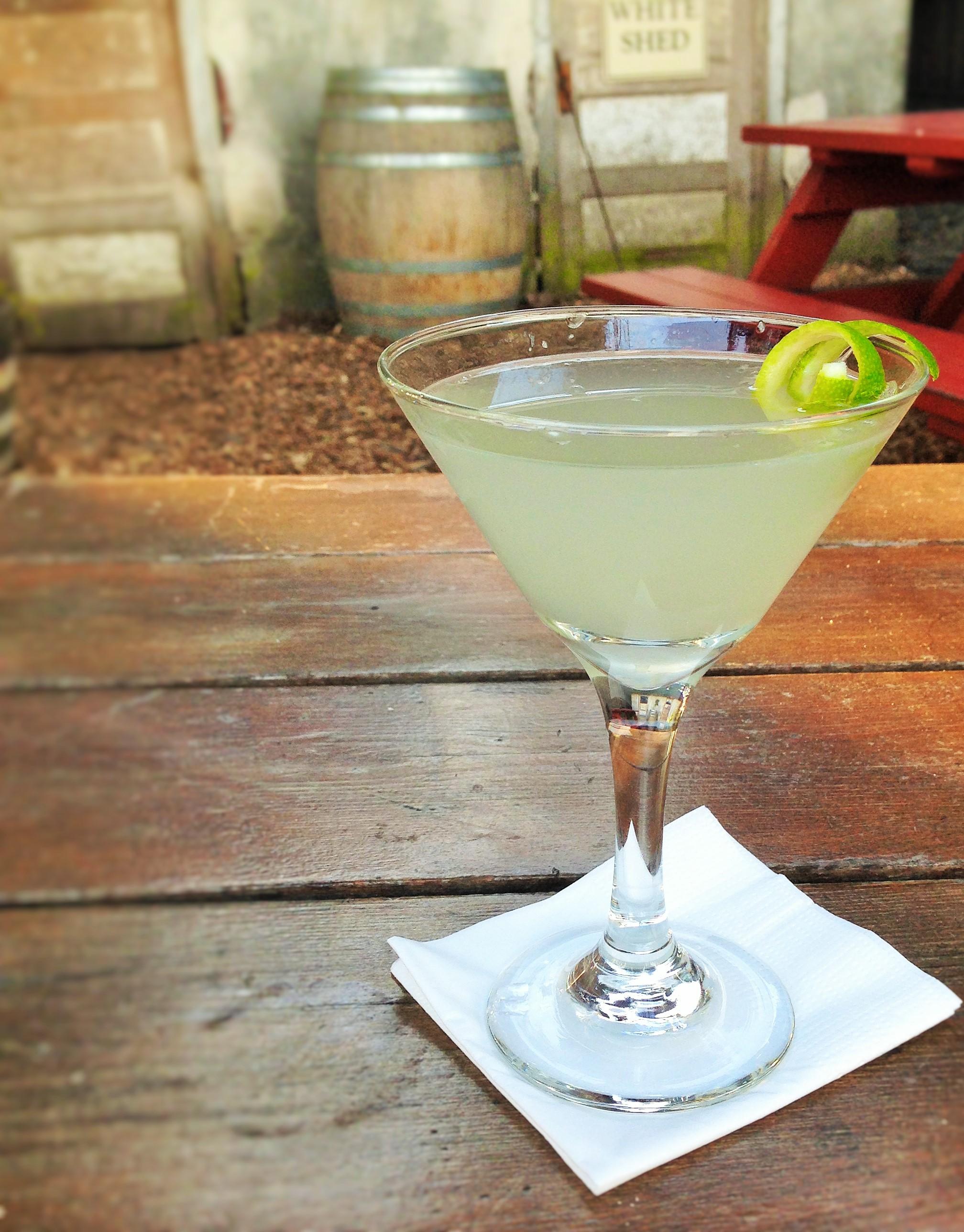 Lime in de Coconut Martini