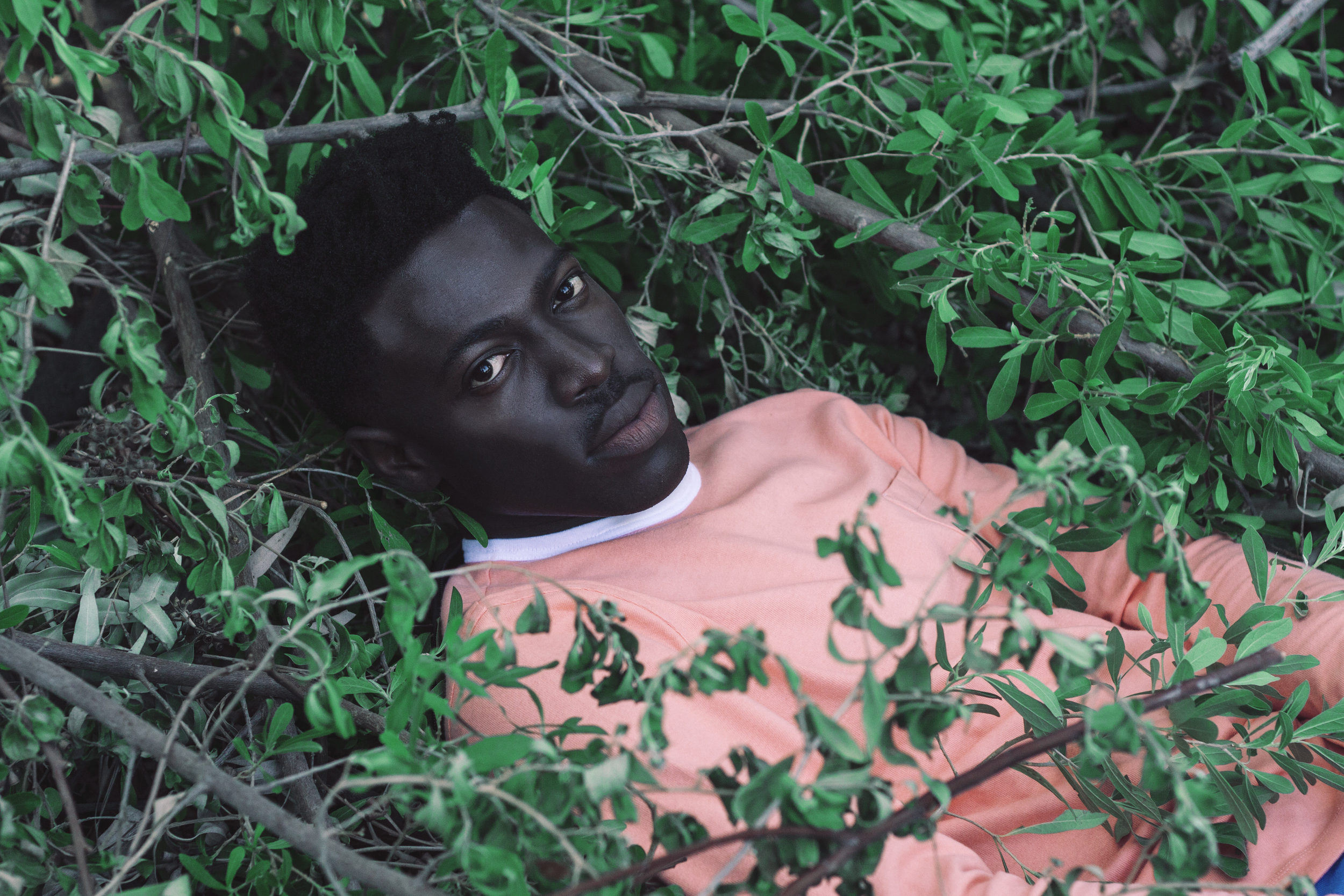 Moses Sumney for Saint Heron, 2014 / Style: James Phlemons / Creative Direction: Solange Knowles