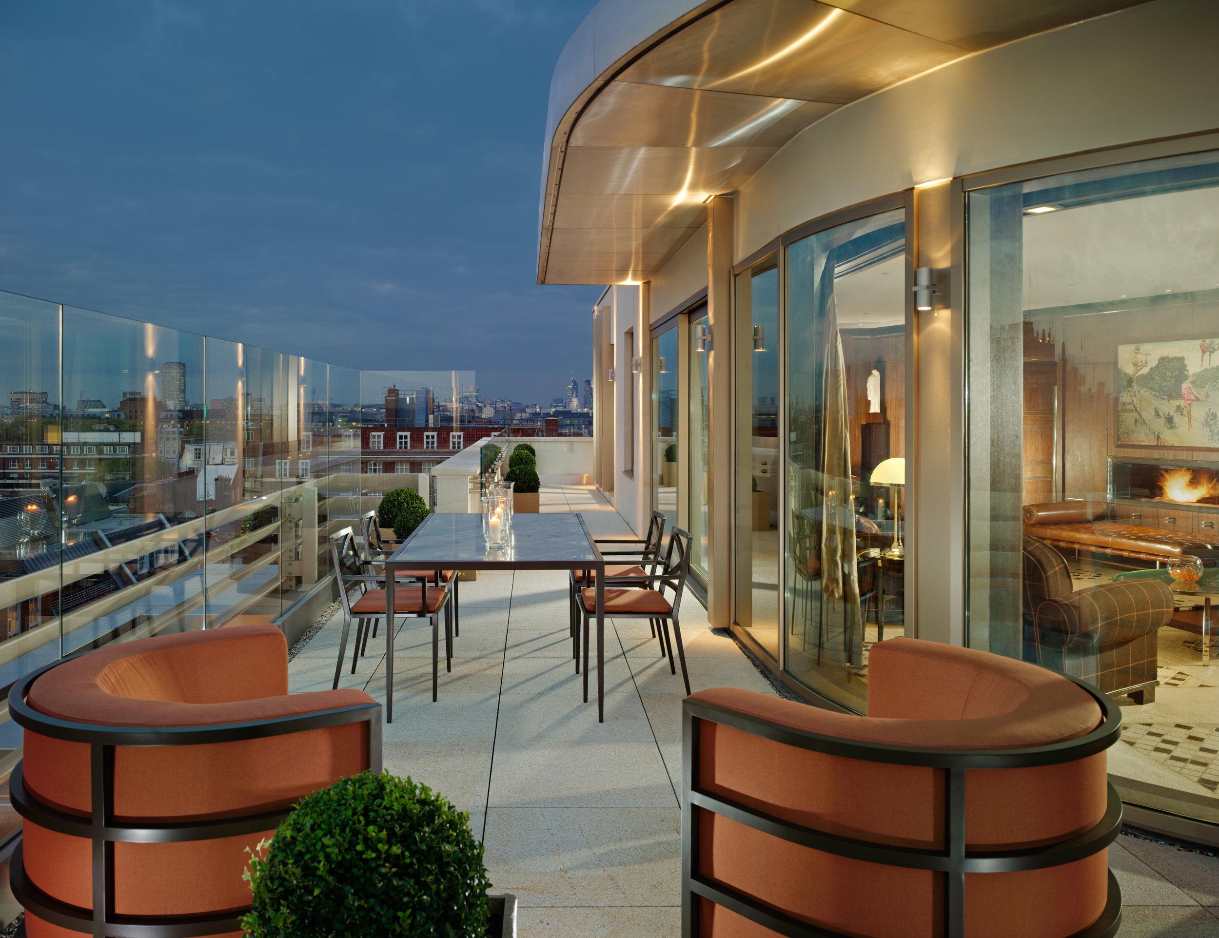 Penthouse Terrace - 45 Park Lane evening view.jpg