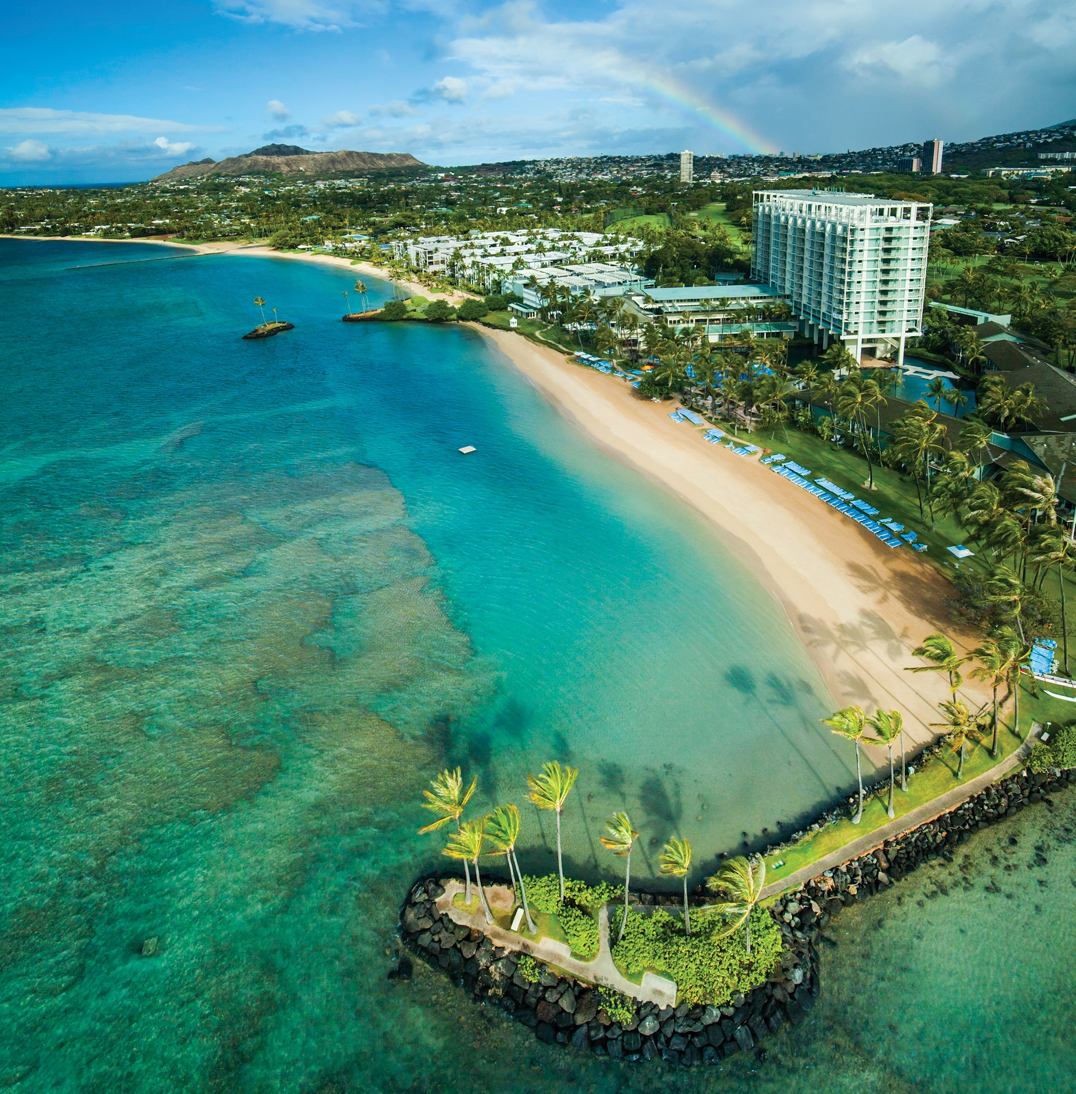The KahalaHotel & Resort - Honolulu, HawaiiThe Kahala Hotel & Resort holds the distinction of having every US president from Lyndon Johnson to Barack Obama stay at the hotel. Through the 70s and 80s, The Kahala Hotel & Resort has been nicknamed